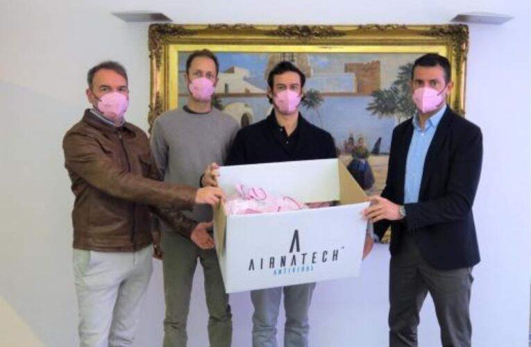 Tecnología y moda textil. Así es la empresa española más reconocida de mascarillas españolas: Airnatech
